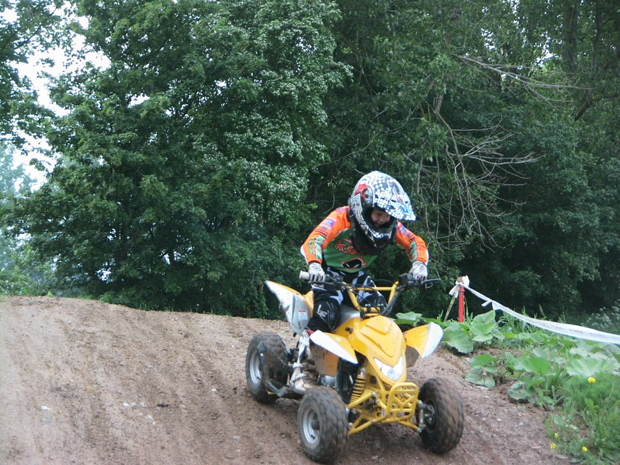 Motocross mit E-Quad für Kids