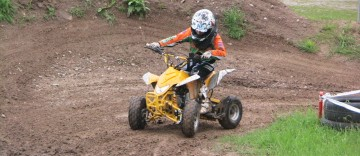 Motocross mit E-Quads für Kids