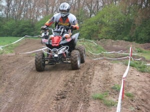 Motocross Training mit Quads